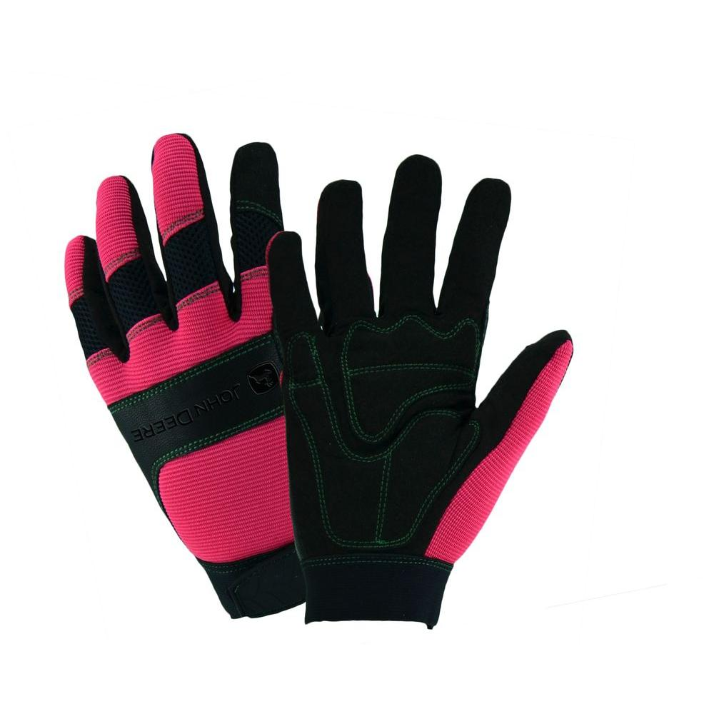 John Deere All Purpose Ladies Large Utility Gloves