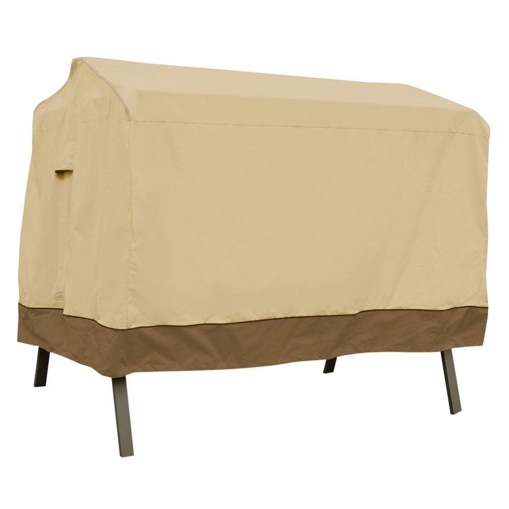 Classic Accessories Veranda 3-Seater Canopy Swing Cover  sc 1 st  The Home Depot & Classic Accessories Veranda 3-Seater Canopy Swing Cover-55-622 ...