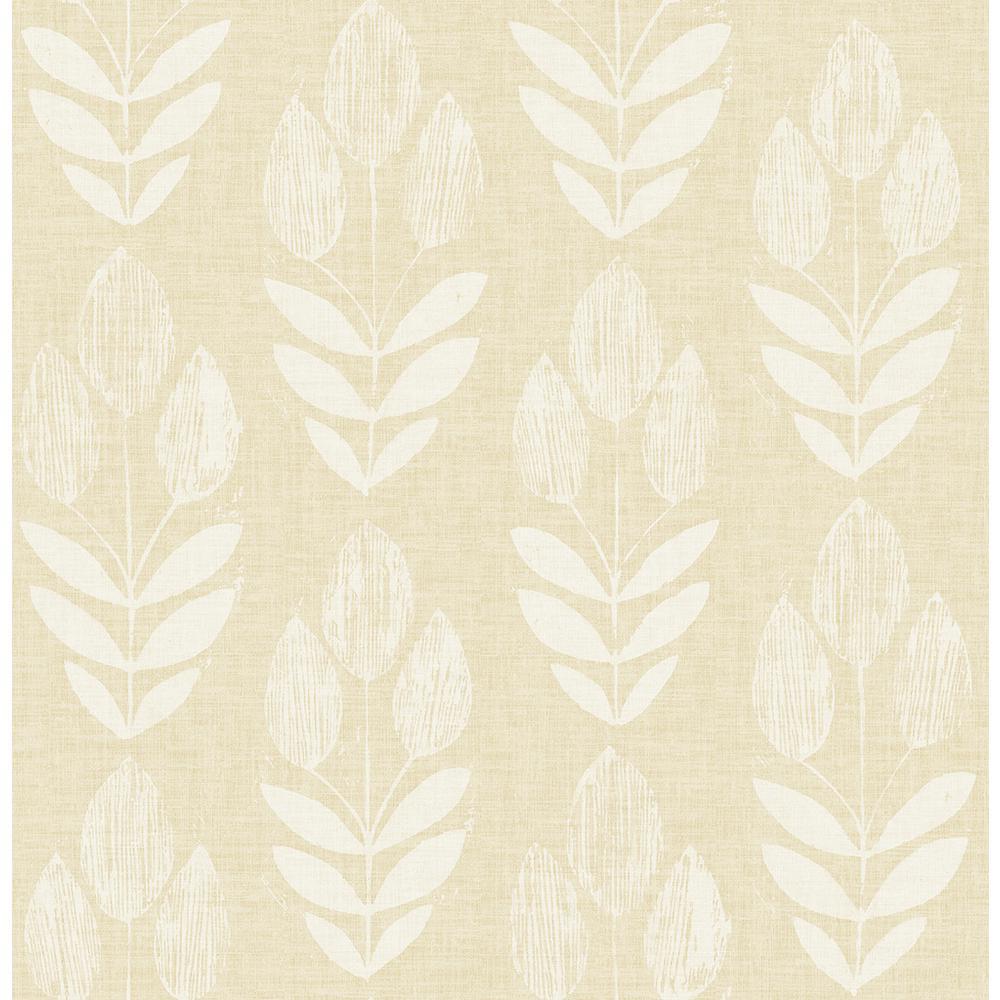 Garland Wheat Block Tulip Wheat Wallpaper Sample
