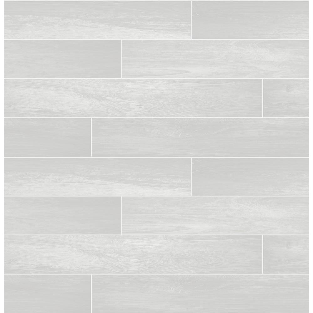 A-Street Titan White Wood Wallpaper Sample 2716-23818SAM