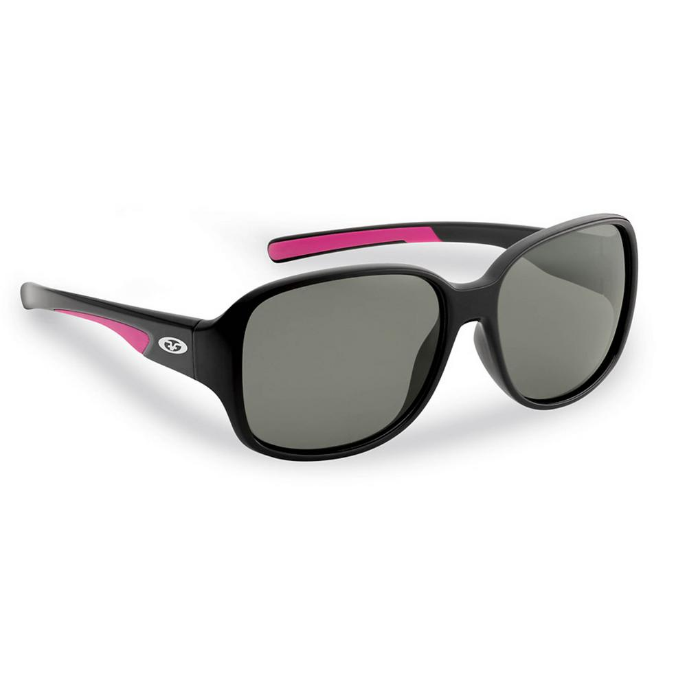 20354c31c021d Flying Fisherman Pearl Polarized Sunglasses in Black Frame with Smoke Lens