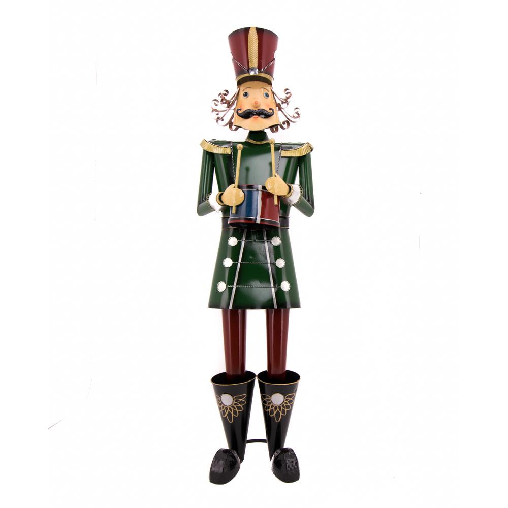 Tall Christmas Traditional Nutcracker with Drum