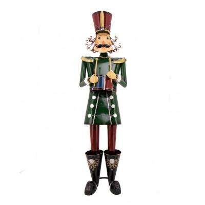 60 in. Tall Christmas Traditional Nutcracker with Drum