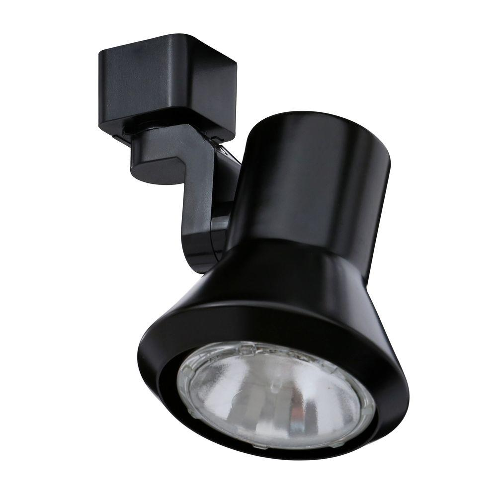 50-Watt Flare Black Track Lighting  sc 1 st  The Home Depot & Black - Track Lighting - Lighting - The Home Depot azcodes.com