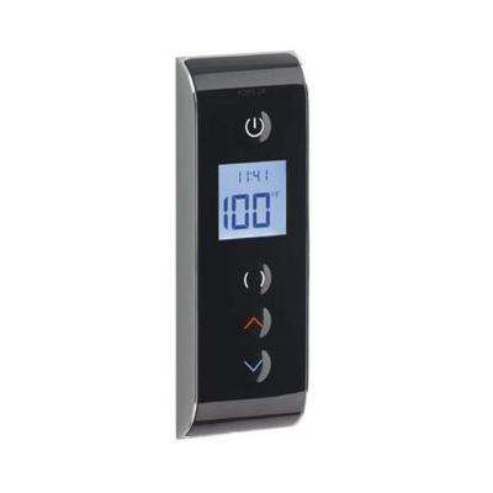 DTV Digital Shower Interface in Black Black