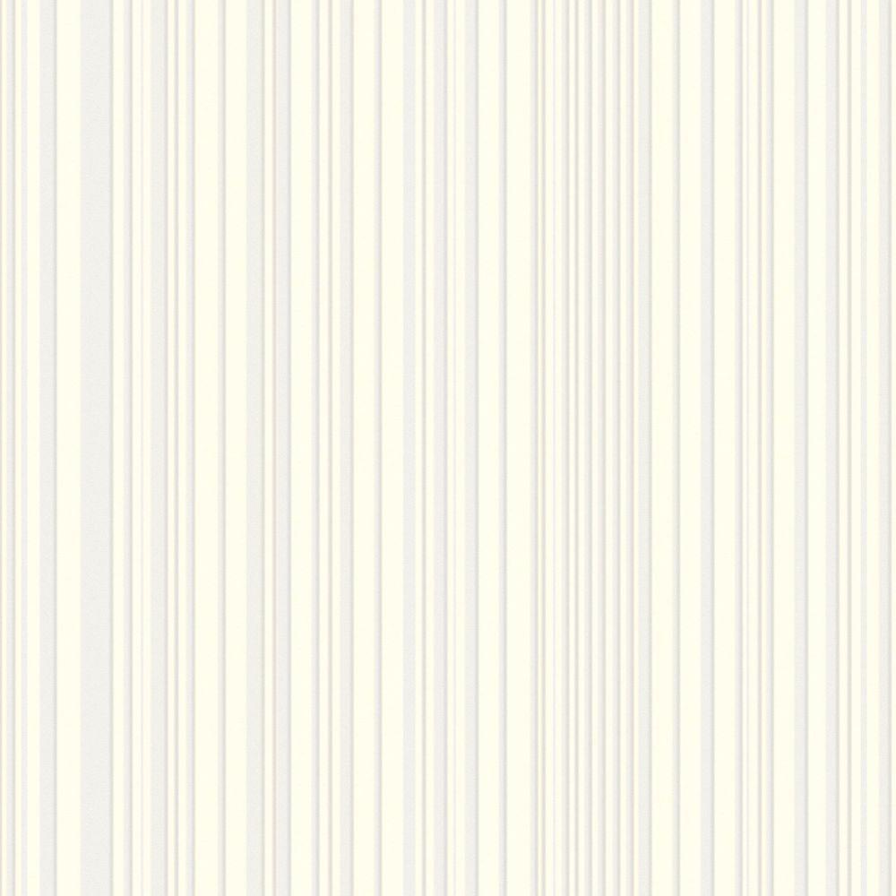White maestro stripe wallpaper