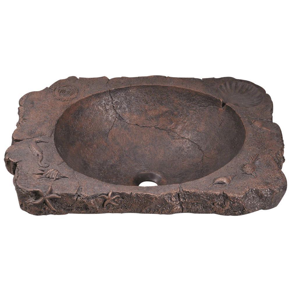MR Direct Top-Mount Bathroom Sink in Bronze