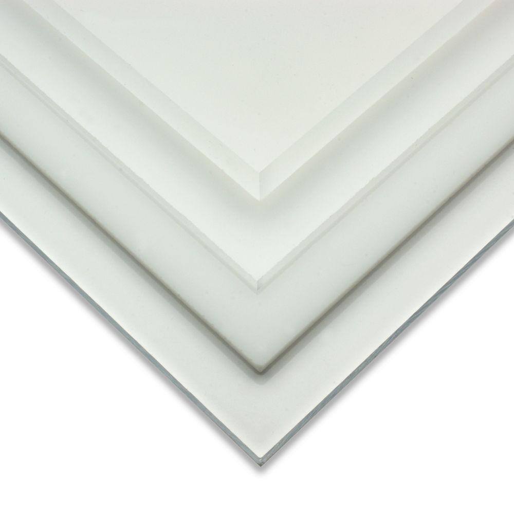 OPTIX 20 in. x 32 in. x 0.093 in. Acrylic Sheet