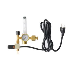 Hydro Crunch Co2 Regulator Emitter System with Solenoid Valve by Hydro Crunch