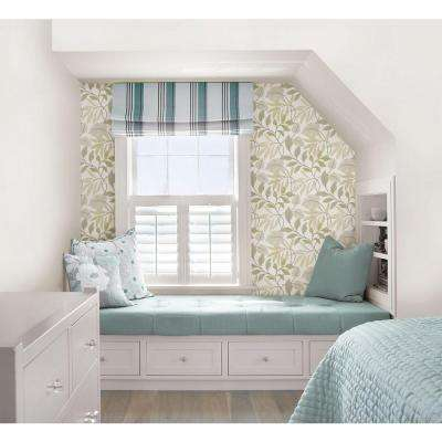 White Neutral Meadow Peel And Stick Wallpaper