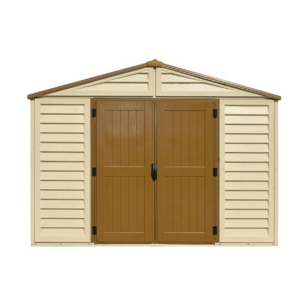 rubbermaid big max 7 ft 1 in x 7 ft 2 in storage shed 1887154 the home depot - Garden Sheds Virginia Beach