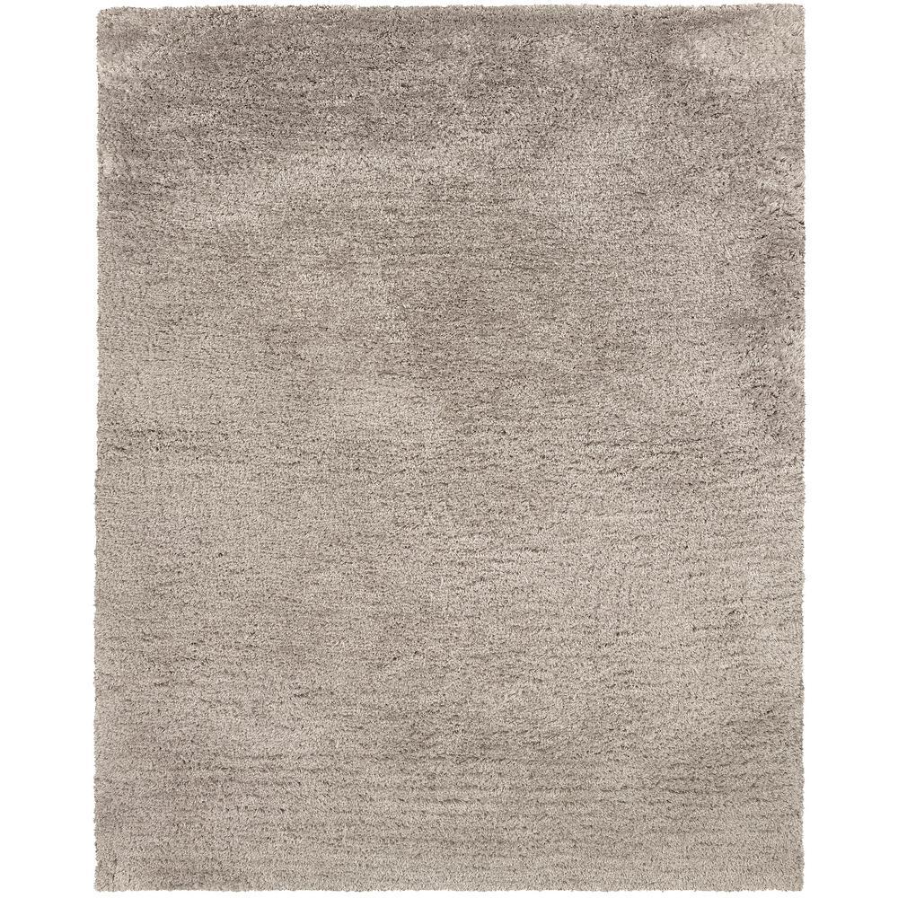 Cara Beige/Grey 10 ft. x 13 ft. Solid Area Rug