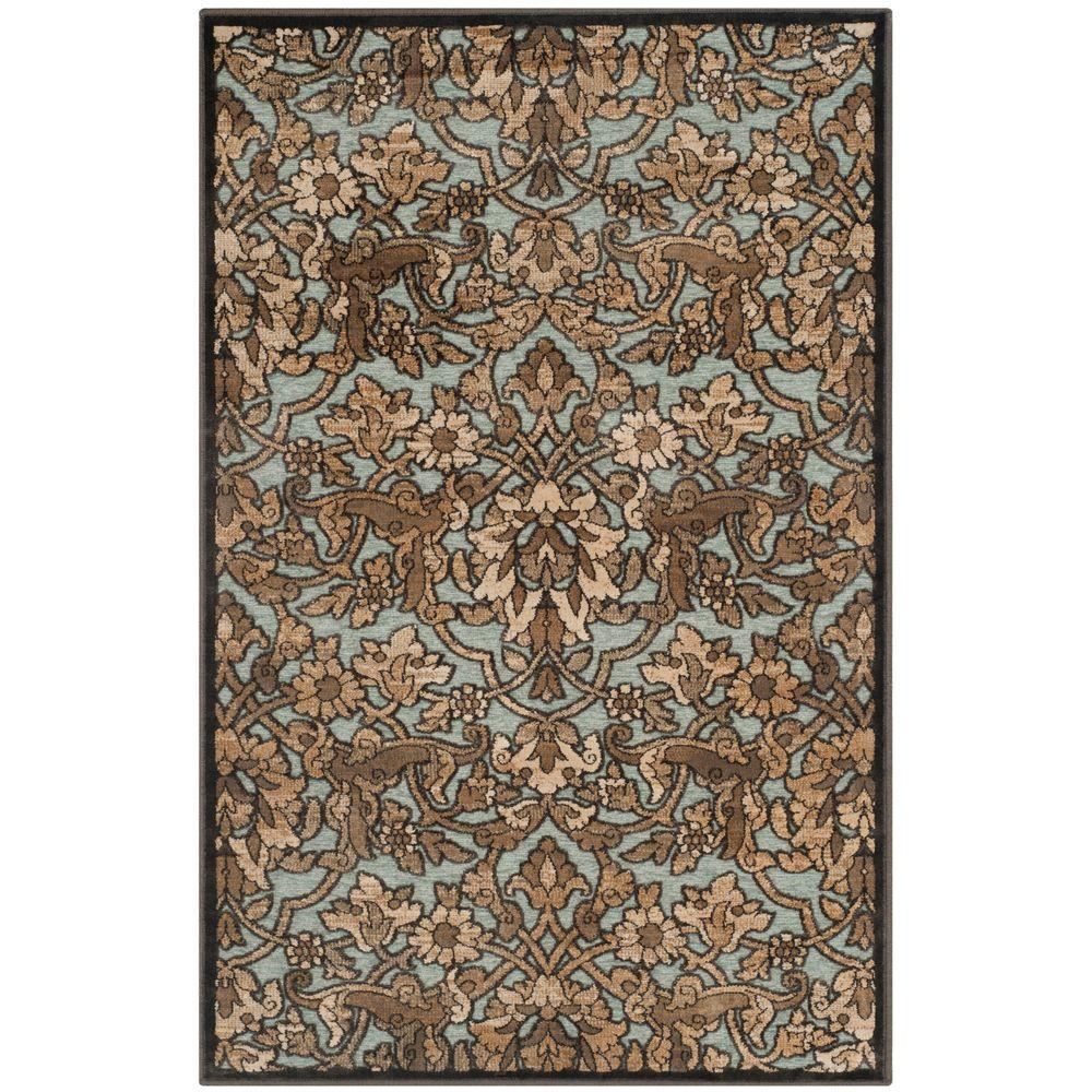 Safavieh Paradise Soft Anthracite 3 ft. 3 in. x 5 ft. 7 in. Area Rug