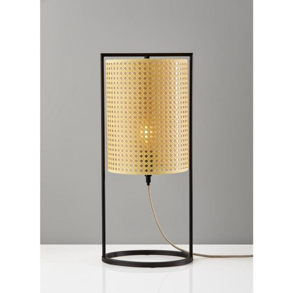 Adesso Fern 22 25 In Bronze Tall Table Lantern 3359 26 The Home Depot