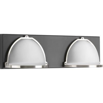Ponder Collection 9-Watt Graphite Integrated LED Bath Light