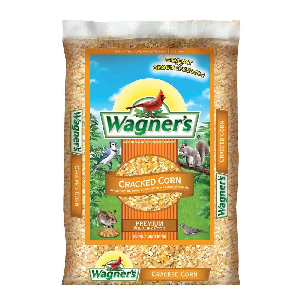 4 lb. Cracked Corn Wildlife Food