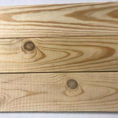 5/8 in. x 5 in. x varying lengths up to 4 ft. Rustic Pine Shiplap Plank Common Board (20 sq. ft/pack)