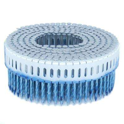 1.875 in. x 0.099 in. 0-Degree Screw Aluminum Plastic Sheet Coil Nail 4,000 per Box