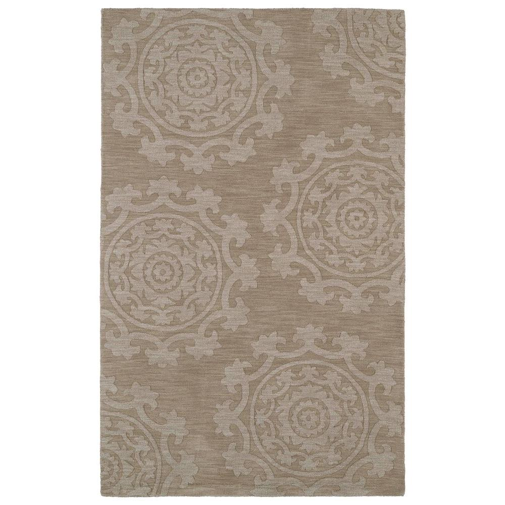 Imprints Classic Light Brown 3 ft. 6 in. x 5 ft.