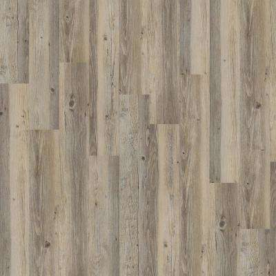 New Liberty 12 mil 6 in. x 48 in. Leather Resilient Vinyl Plank Flooring (53.93 sq. ft. / case)