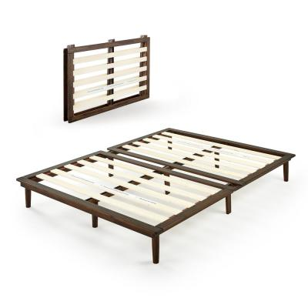 Bobbie Brown Queen Wood Platform Bed Frame