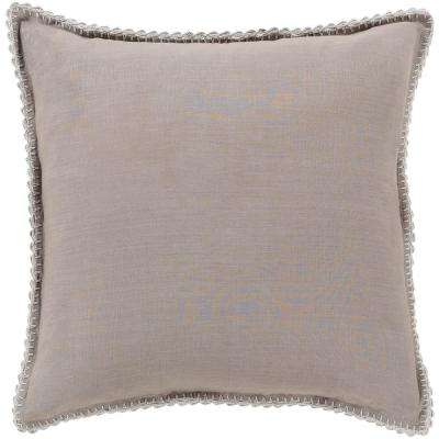 Ellenora Medium Gray Euro Sham