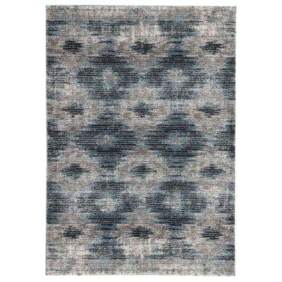 Dalton Gray 2 ft. 6 In. x 8 ft. Geometric Runner Rug