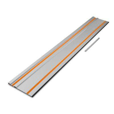 55 in. Track Saw Track Guide Rail with Adapter
