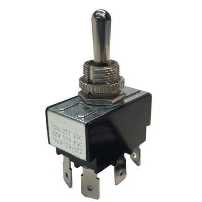 Ring Toggle Switch DPDT O/F/O 10 Amp 125-Volt (Case of 5)