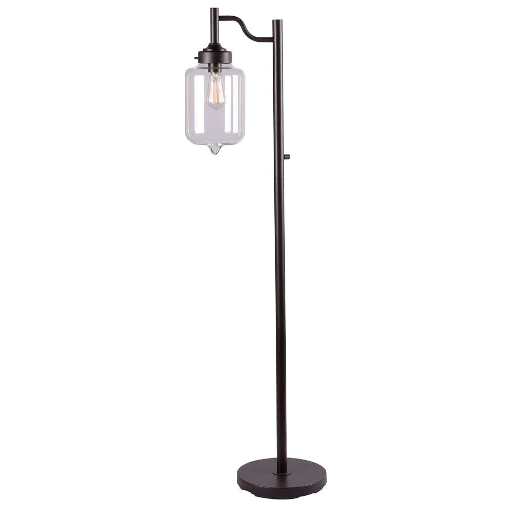 Casey 57 in. Bronze Floor Lamp