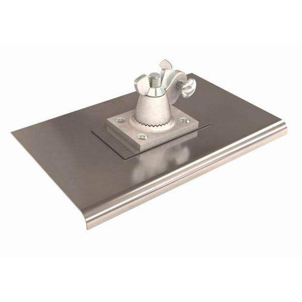 10 in. x 6 in. Stainless Steel All Angle Walker Edge