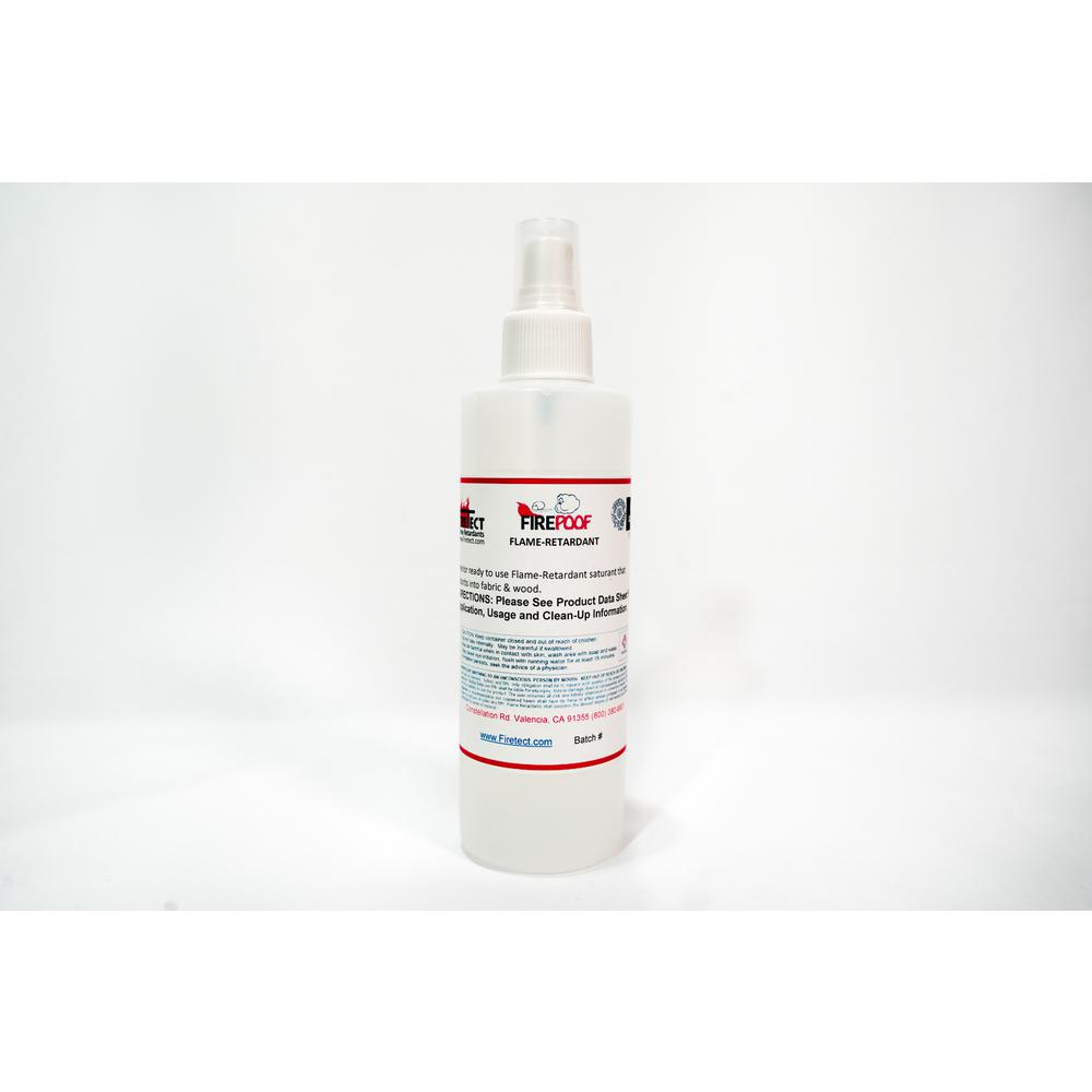 Firetect Fire-Poof 32 oz  Clear Interior Fireproofing Flame Retardant  Liquid Spray for Fabric and Raw Wood