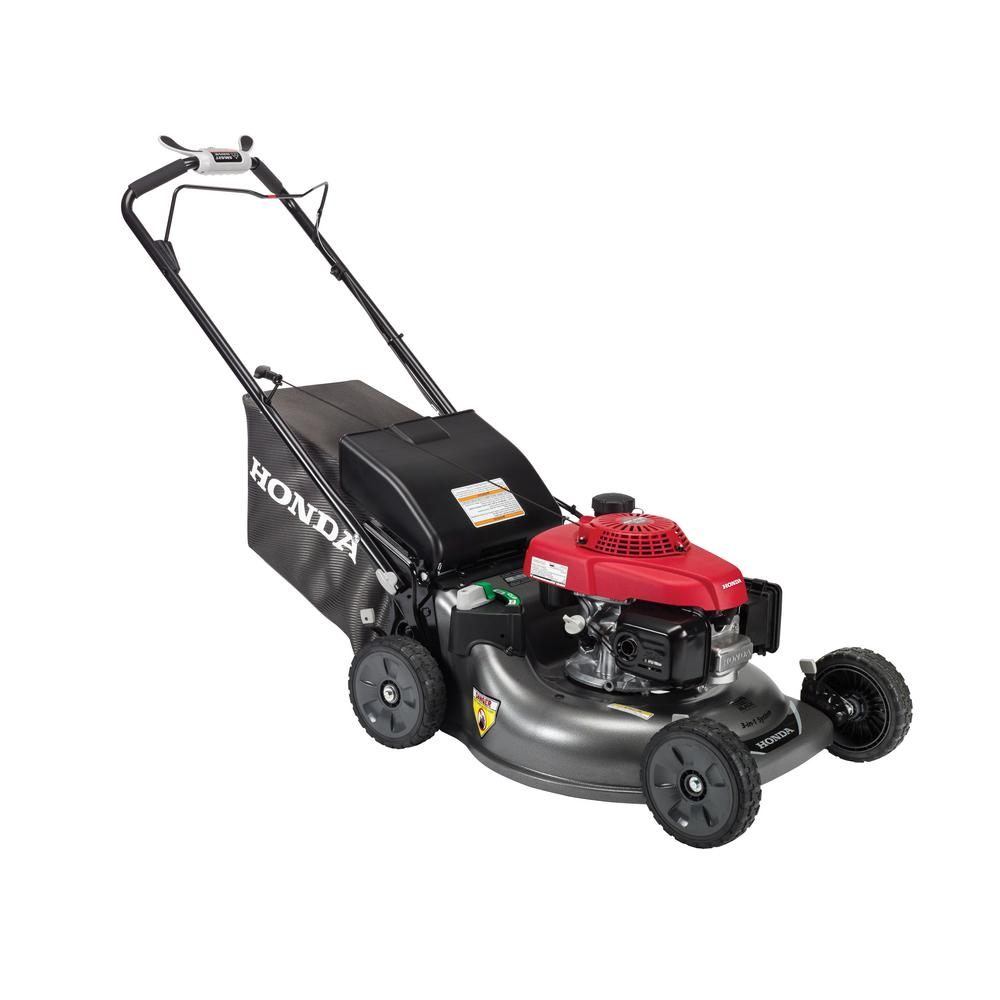 Honda 21 in. 3-in-1 Variable Speed Gas Walk Behind Self Propelled Lawn Mower with Auto Choke