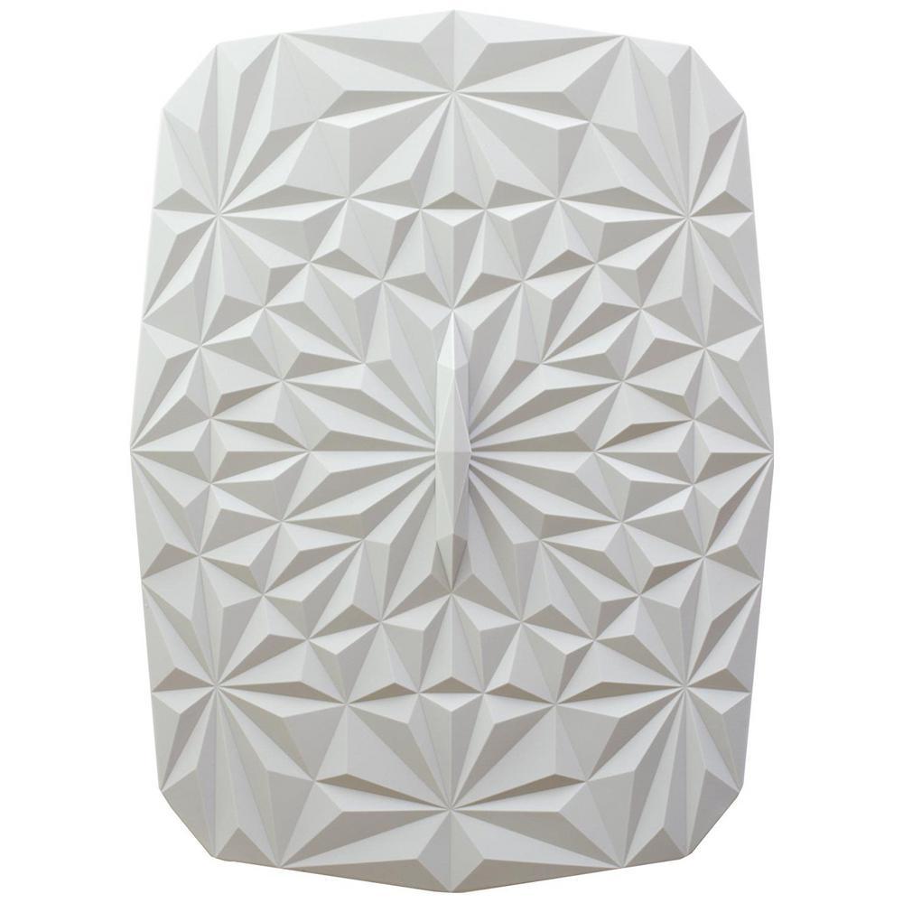 Rectangular Suction 9x13 Silicone Lid in Studio White