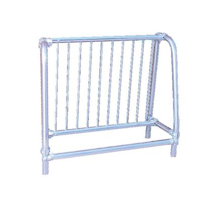5 ft. Galvanized Commercial Park Single Sided Bike Rack Portable