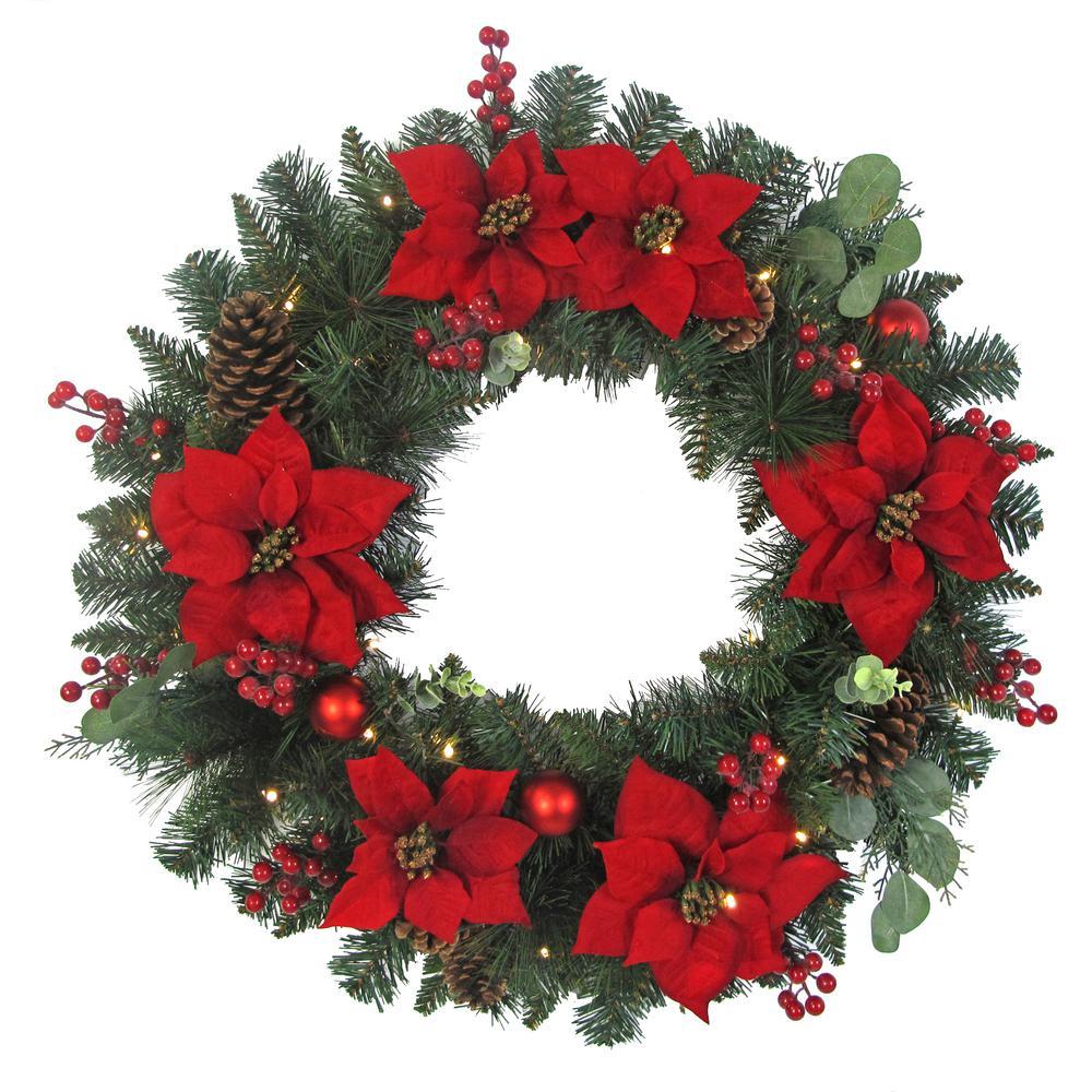 Bulk Christmas Garland.Christmas Greenery The Home Depot