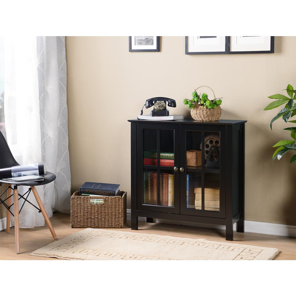 Os Home And Office Furniture Os Home And Office Black Glass Door
