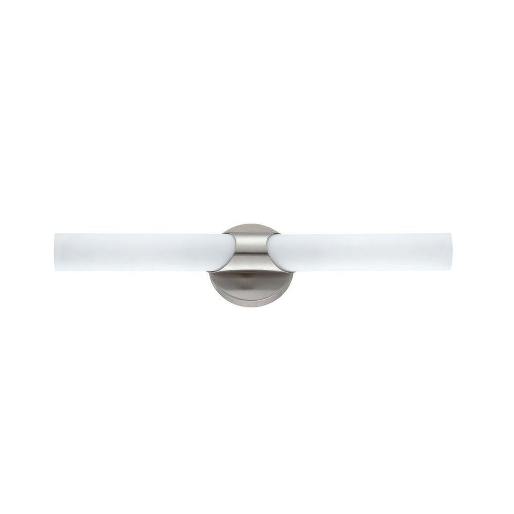 Filament Design Adeline 2-Light Satin Nickel Bath Vanity Light