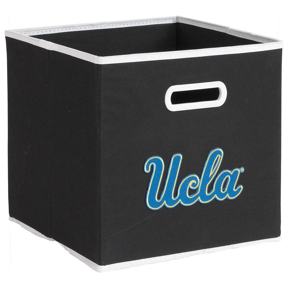 null College STOREITS UCLA 10-1/2 in. W x 10-1/2 in. H x 11 in. D Black Fabric Storage Drawer