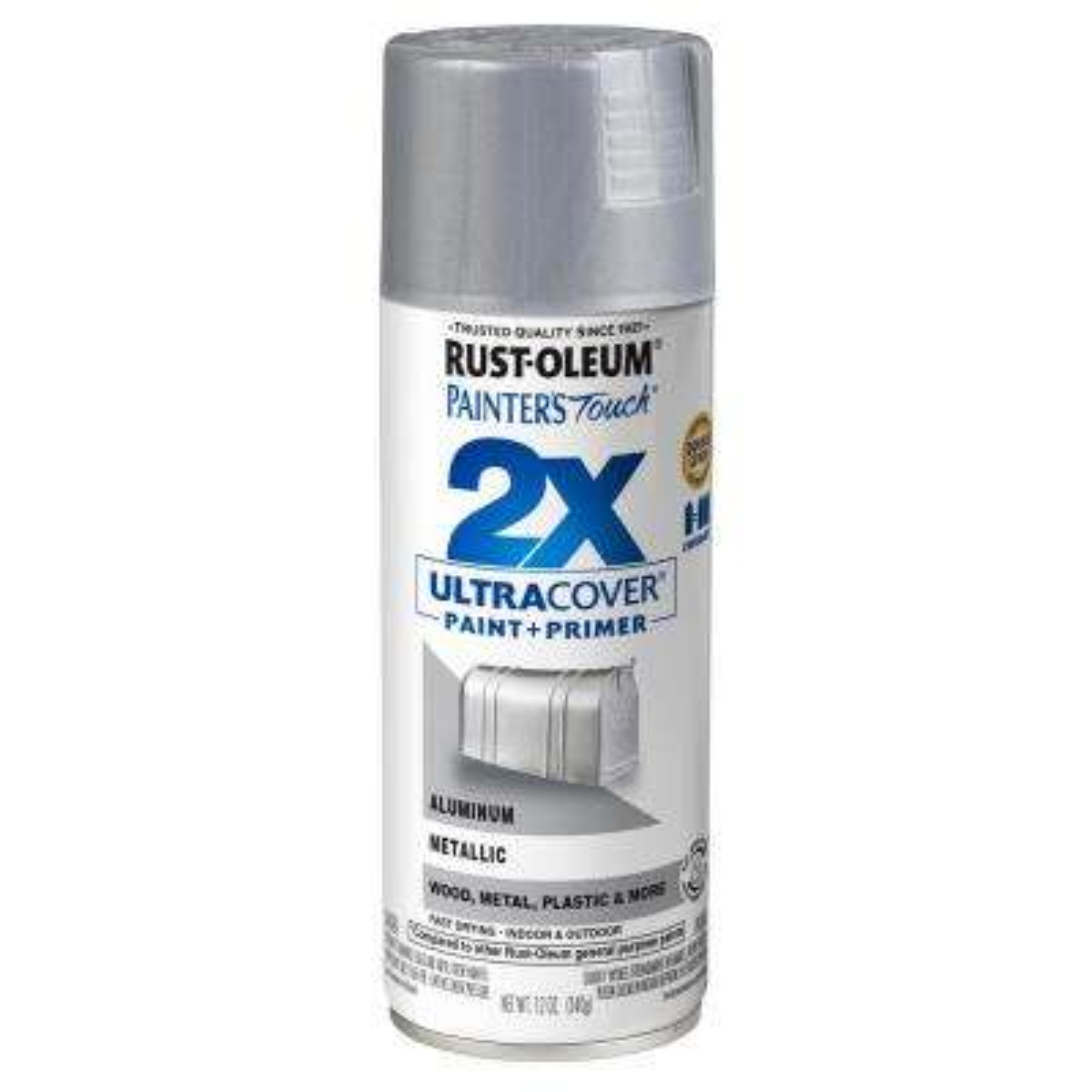 12 oz. Gloss Aluminum General Purpose Spray Paint (6-Pack)
