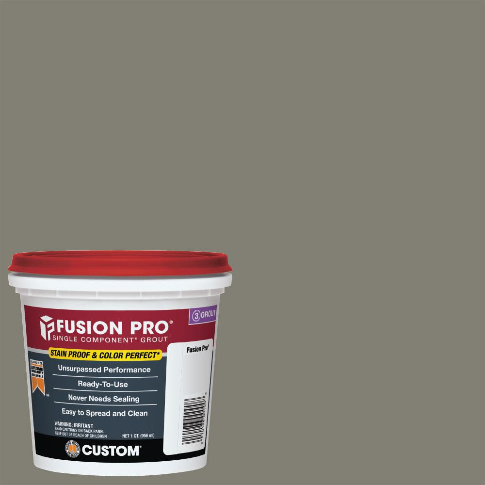 Custom Building Products Fusion Pro #09 Natural Gray 1 qt. Single Component Grout