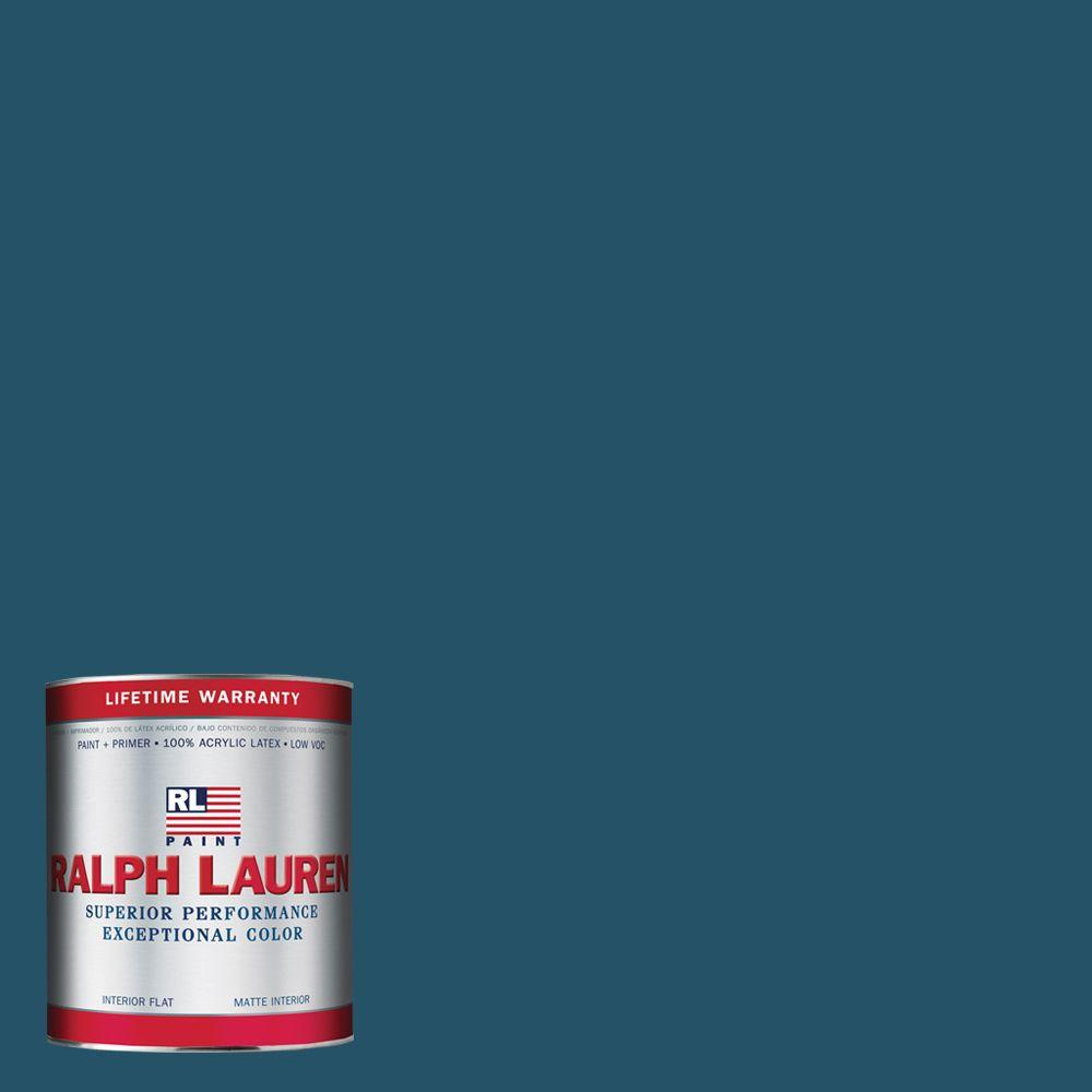 Ralph Lauren 1-qt. Reservoir Blue Flat Interior Paint