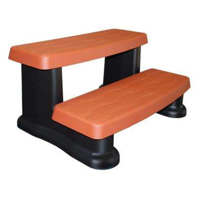 32 in. W x 16 in. H x 24 in. D Synthetic Spa Step