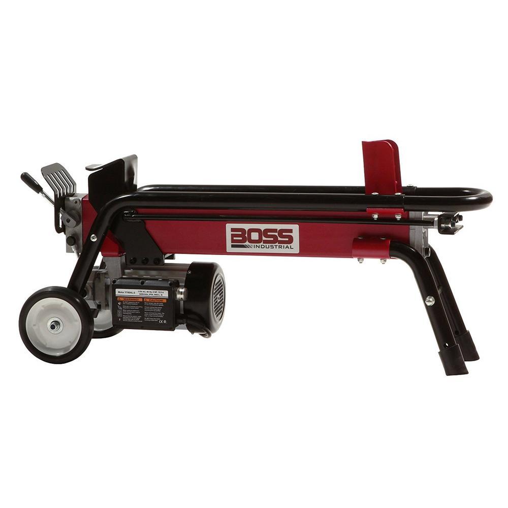 Boss Industrial ES7T20 7-Ton 13.5 Amp Electric Log Splitter by Boss Industrial