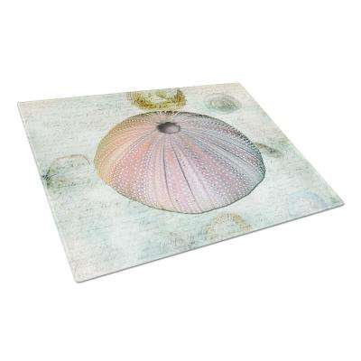 Anemone Tempered Glass Large Cutting Board