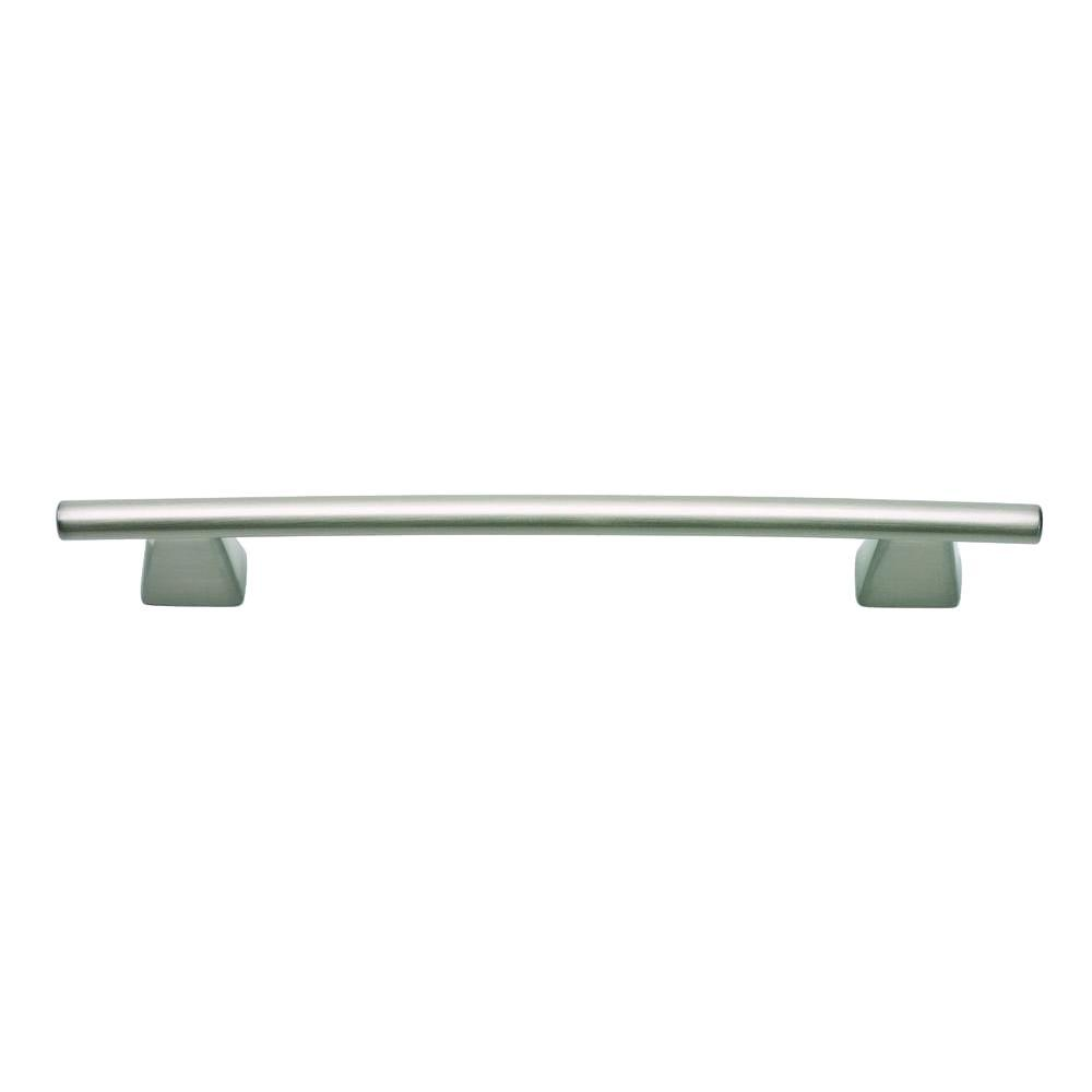 Fulcrum Collection 6.8 in. Brushed Nickel Large Pull