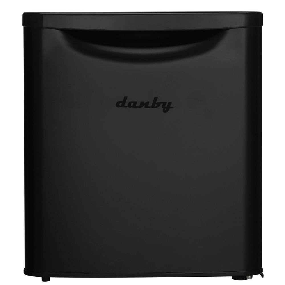 1.73 cu. ft. Mini Refrigerator in Matte Black