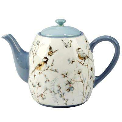 Country Weekend 5-Cup Multi-Colored Teapot