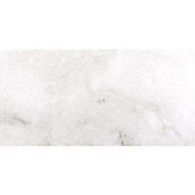 Kalta Bianco 3 in. x 6 in. Marble Floor and Wall Tile (4.84 sq. ft. / case)