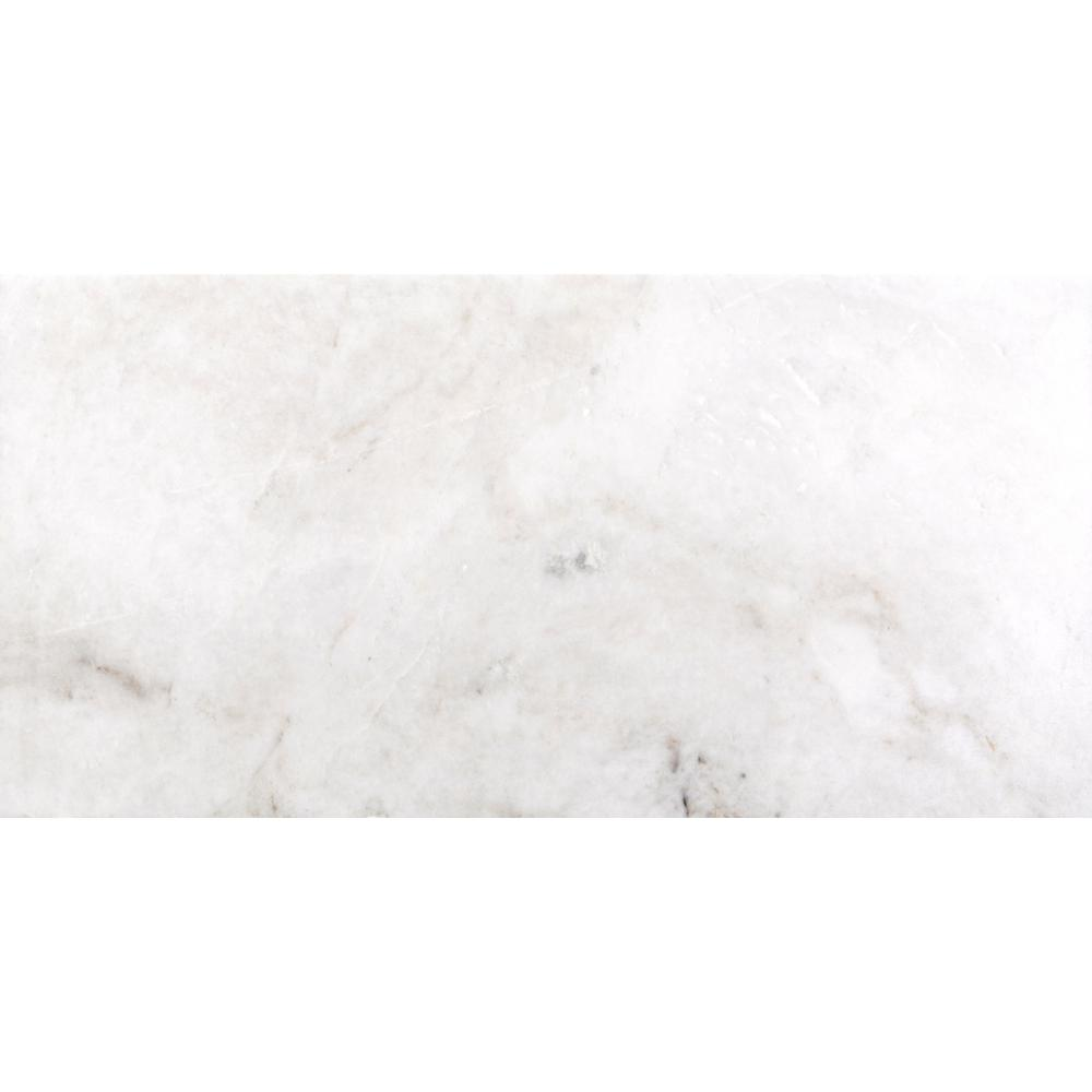 Kalta Bianco 12 In X 24 Marble Floor And Wall Tile